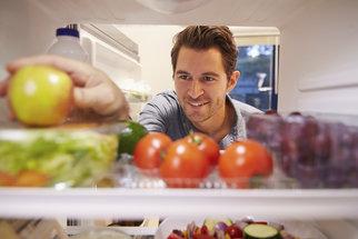 Muž na zdravotní dietě