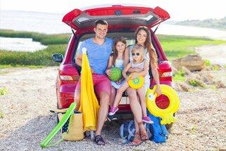 5 tipů, jak přežít dlouhou cestu autem k moři