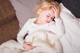 Jak a kdy řešit horečku u dětí?