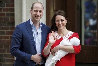 Vévodkyně Kate je matkou třetího dítěte. Jak probíhal porod?