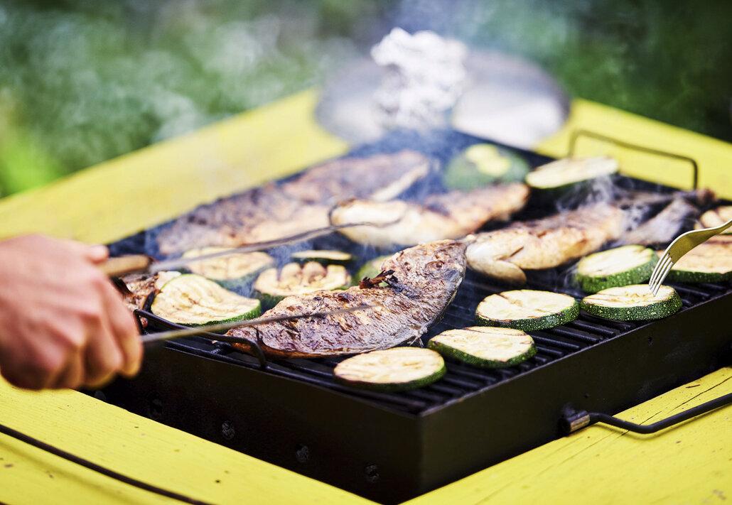 Rybí maso na grilu? Chutná skvěle a je dietní!