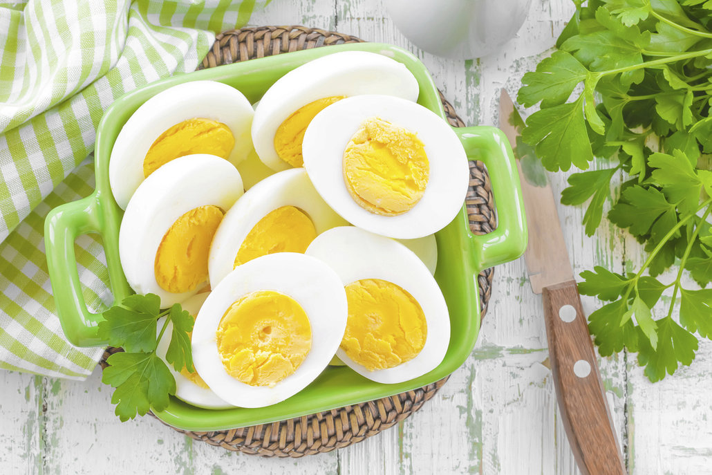 Natvrdo uvařená vejce jsou vhodná i do pomazánek