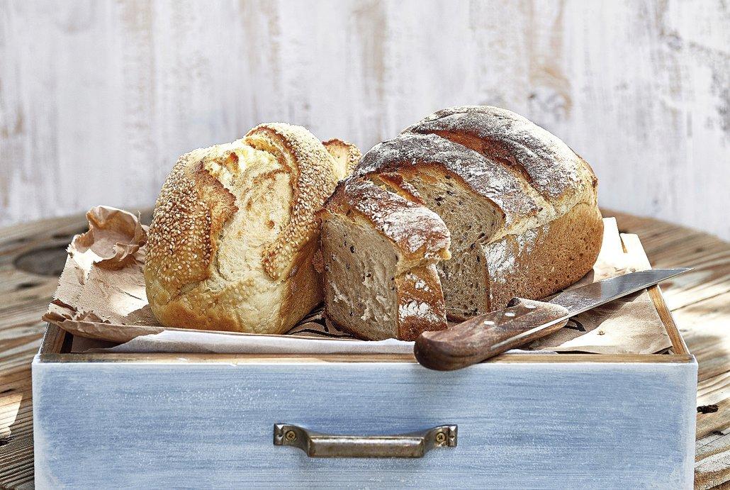 Chleba bramborový a podmáslový