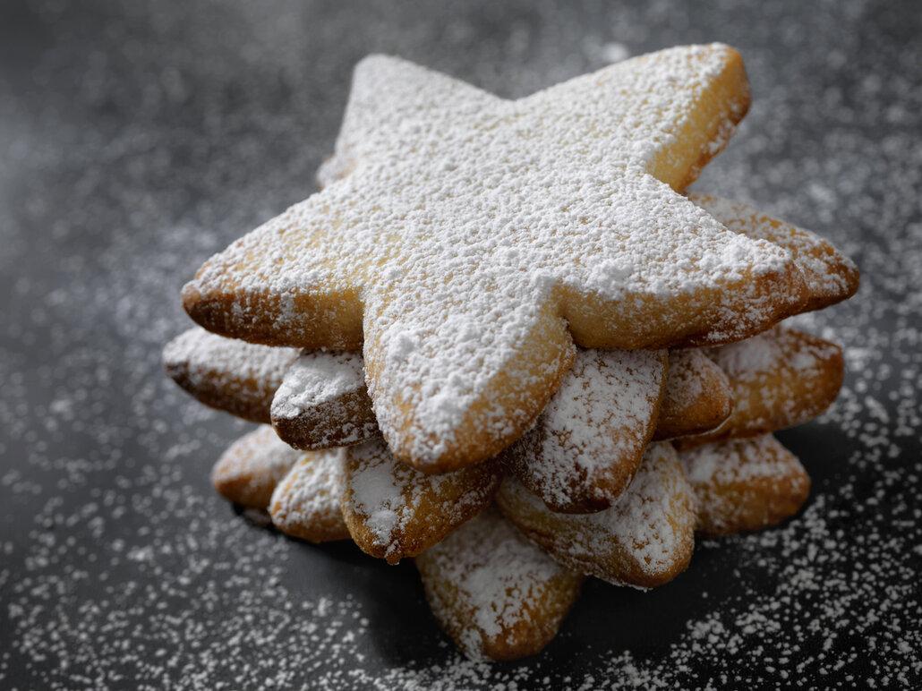 Hvězdičky s ořechy a citrusovou marmeládou