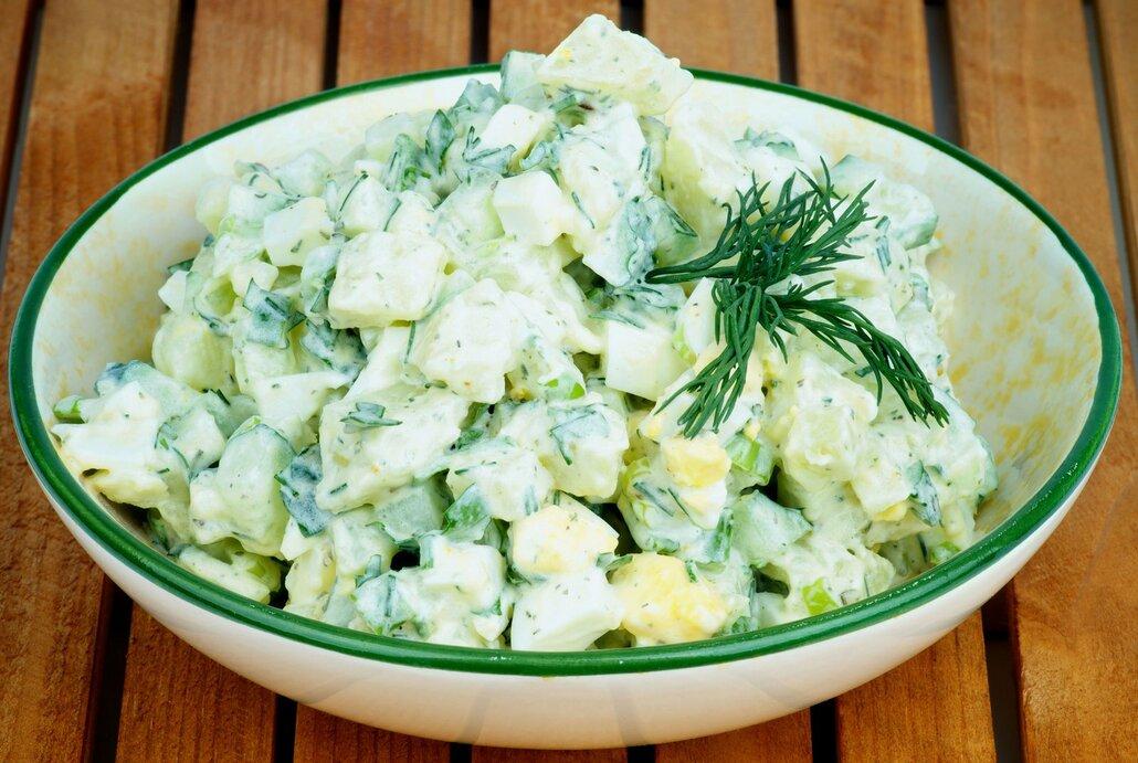 Rakouský bramborový salát.