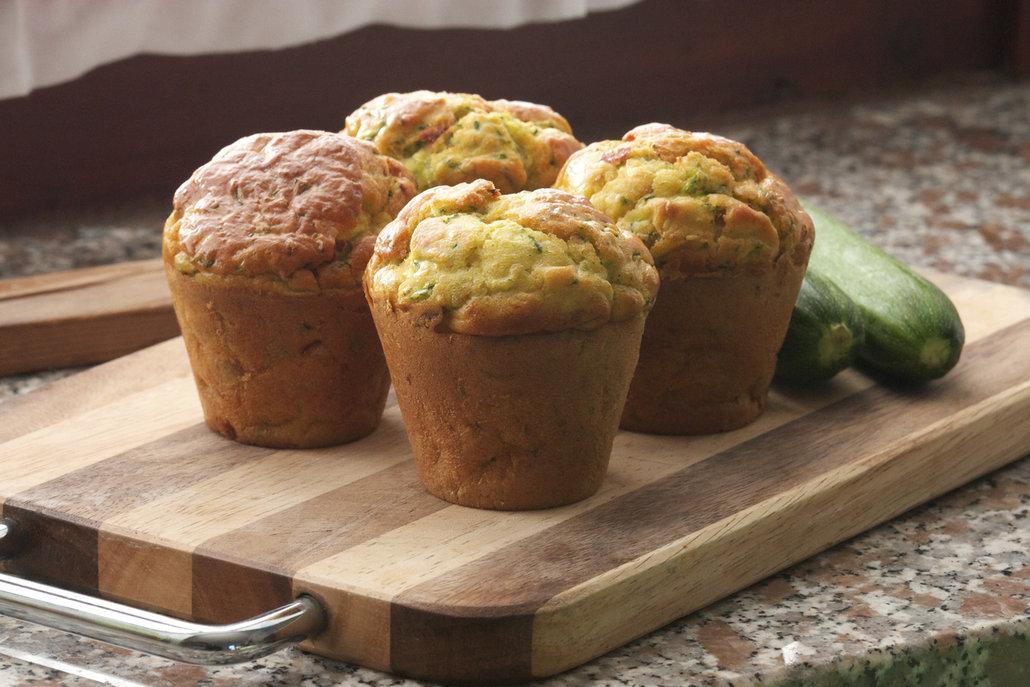 Muffiny se dají připravovat i na slano – výborné jsou například se slaninou