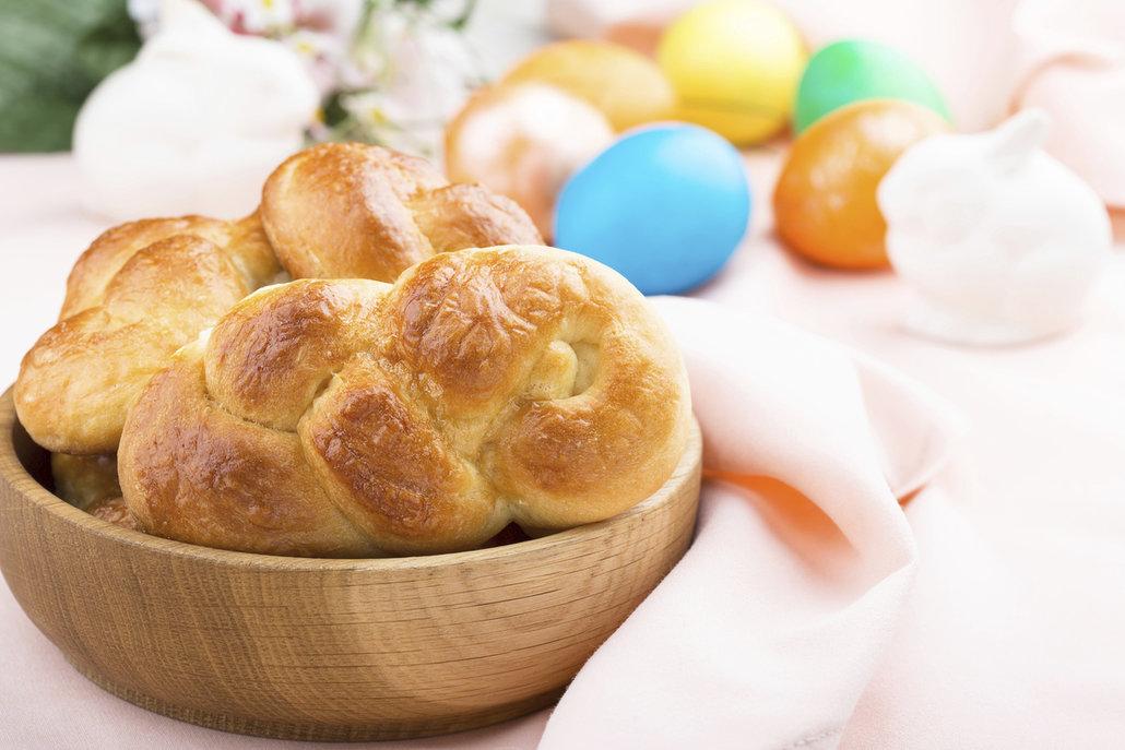 Pletýnky mohou být také hezkou velikonoční ozdobou