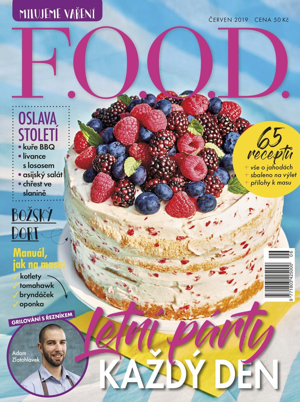 Červnový časopis F.O.O.D.