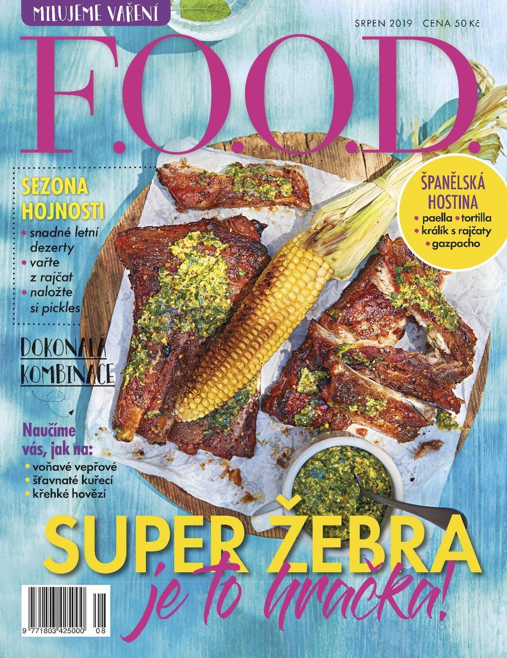 Více receptů na nakládání a nejen na něj najdete v srpnovém čísle časopisu F.O.O.D.
