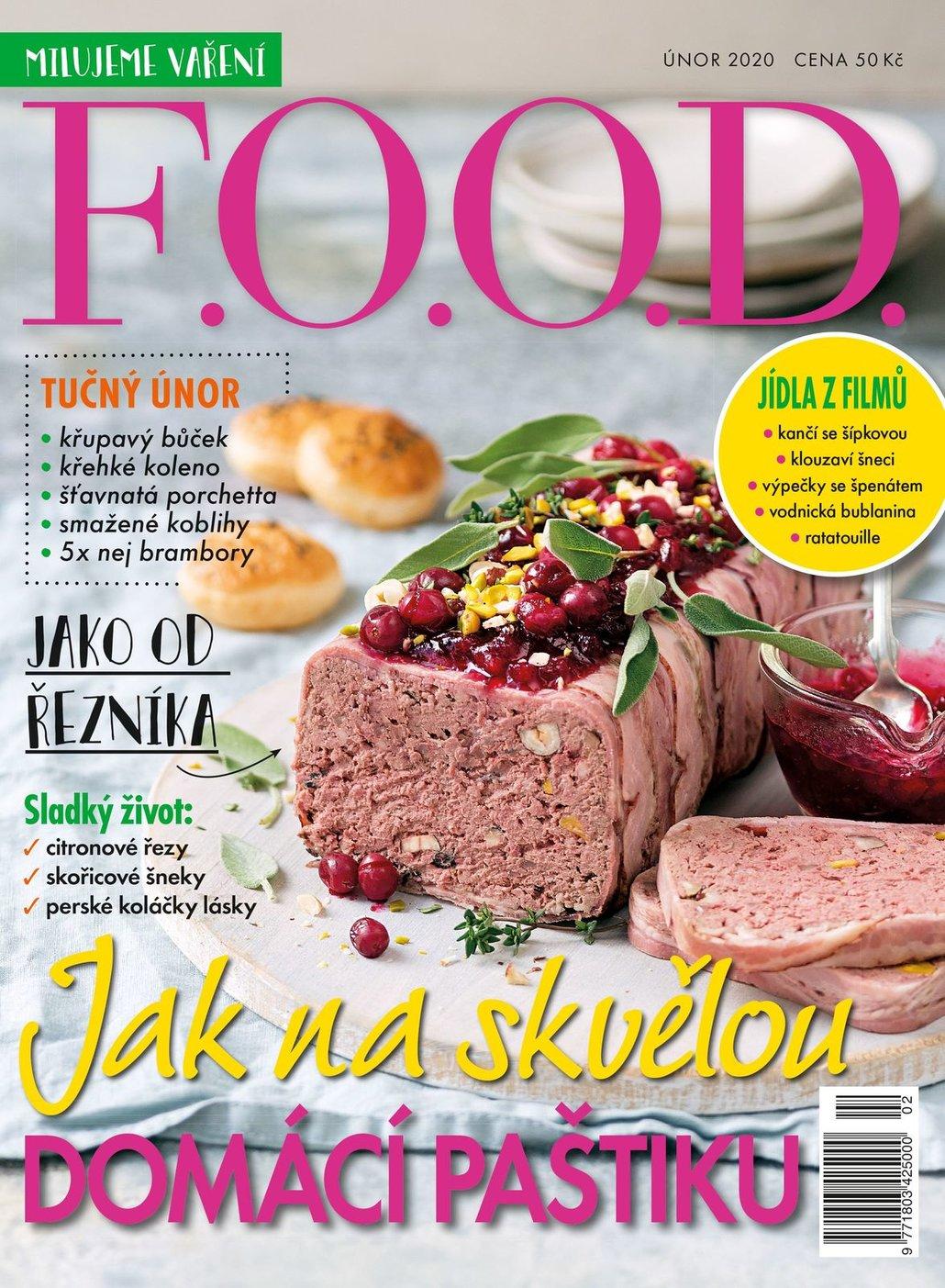 Už máte únorové číslo časopisu F.O.O.D.?