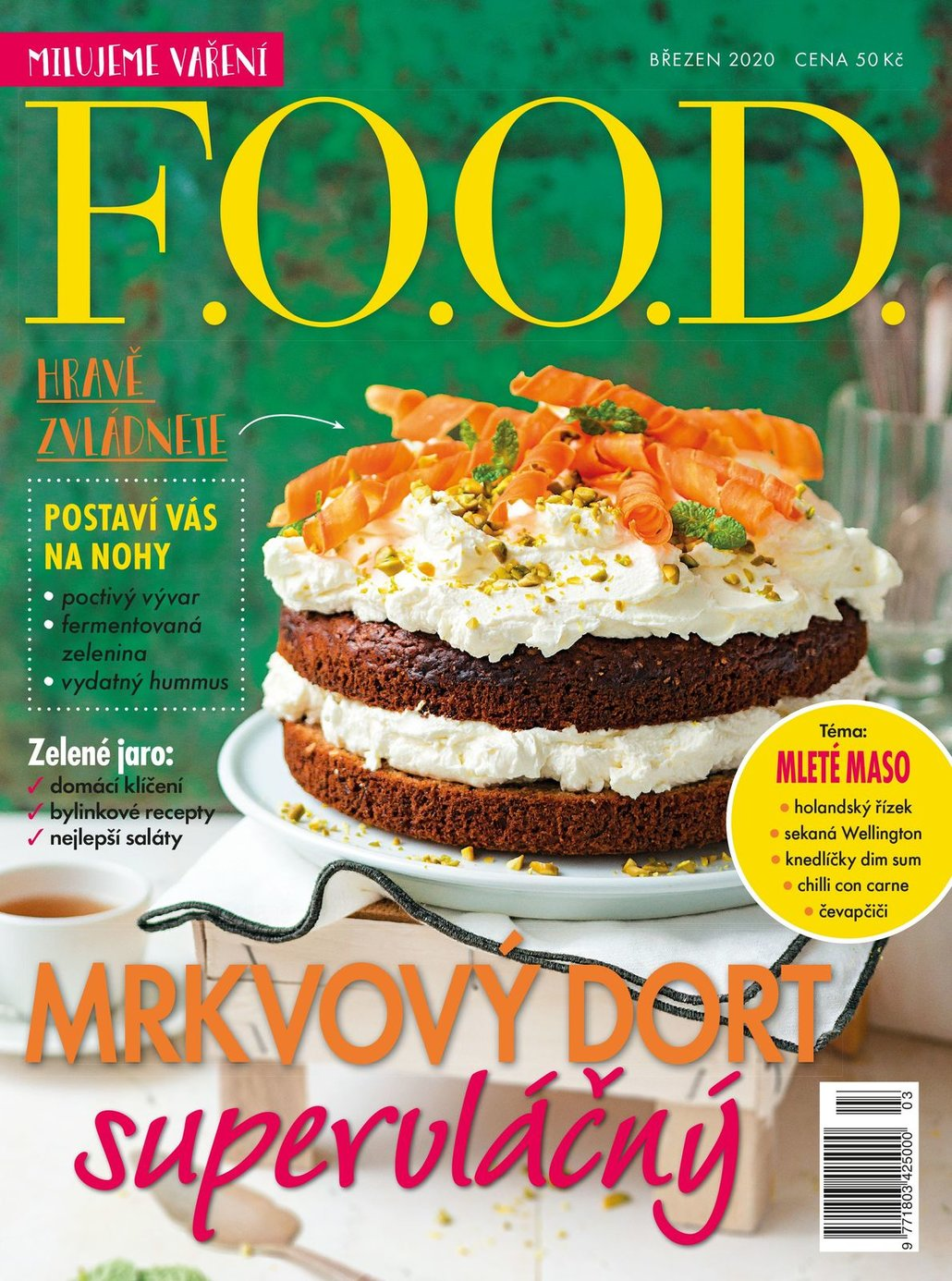 Už máte březnový časopis F.O.O.D.?