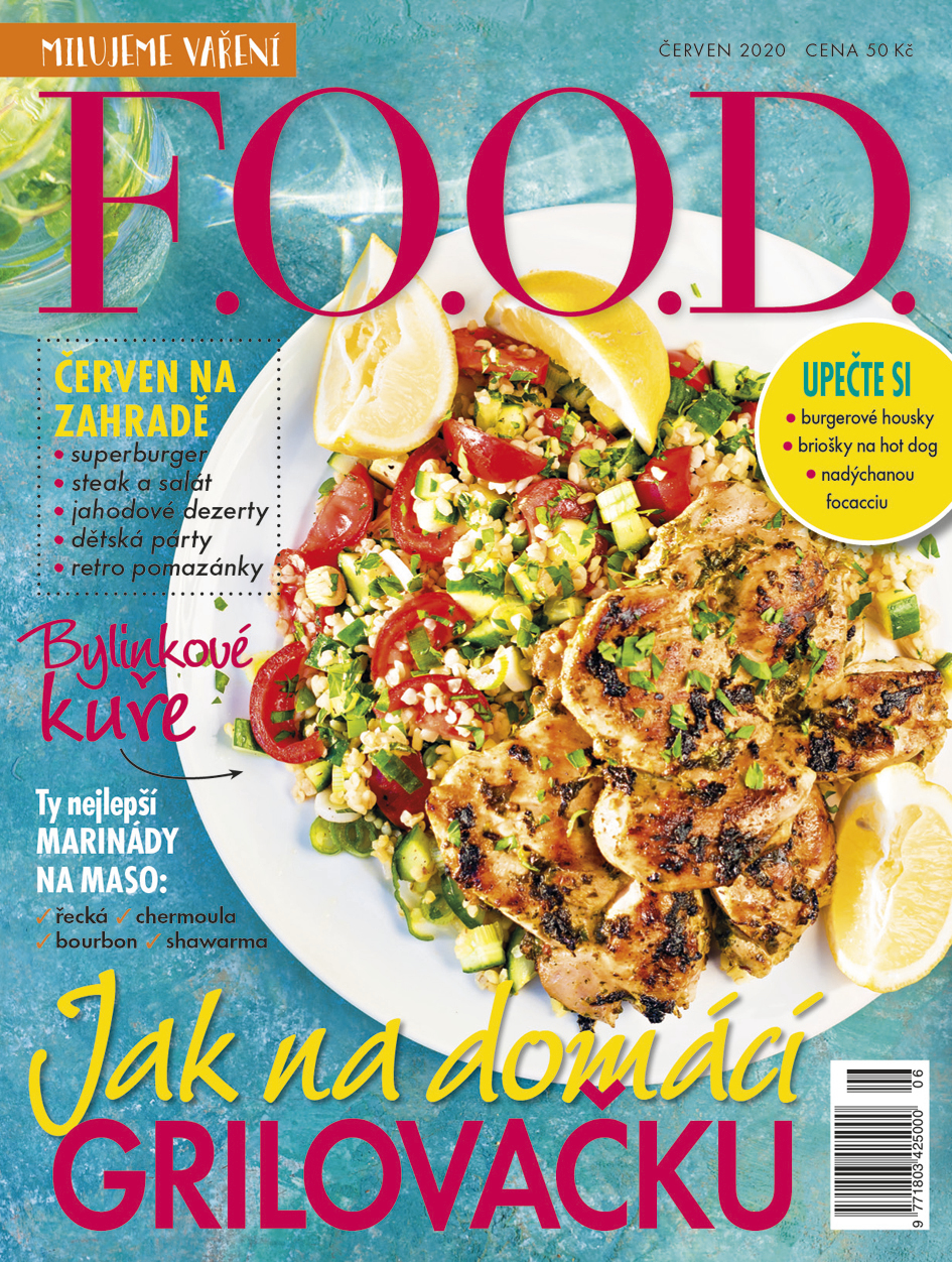 Už máte červnové číslo časopisu F.O.O.D.?