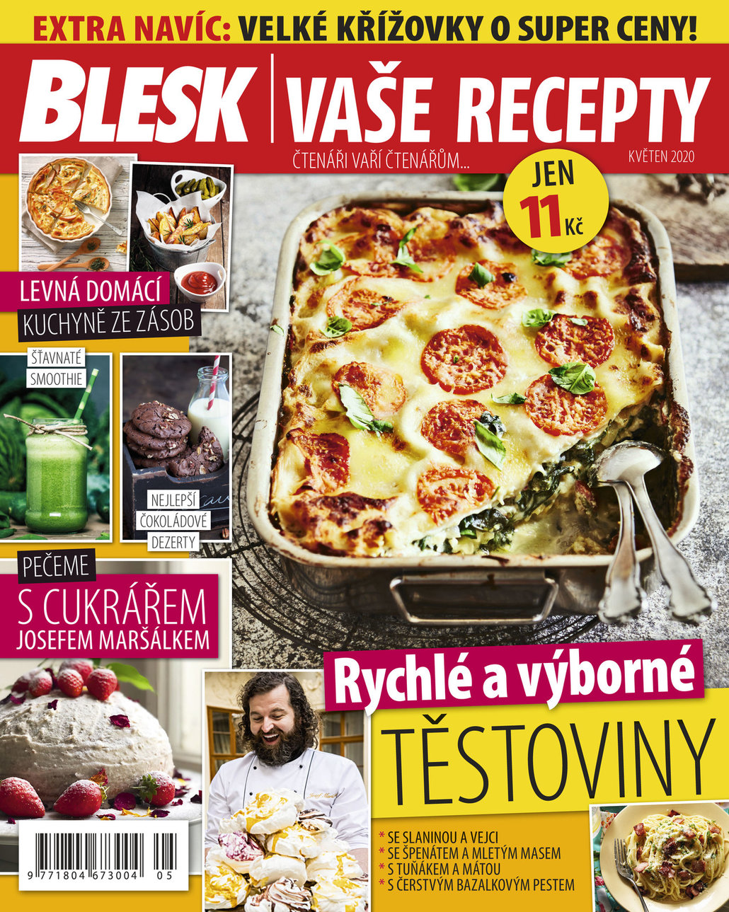 Už máte květnové číslo časopisu Blesk Vaše Recepty?