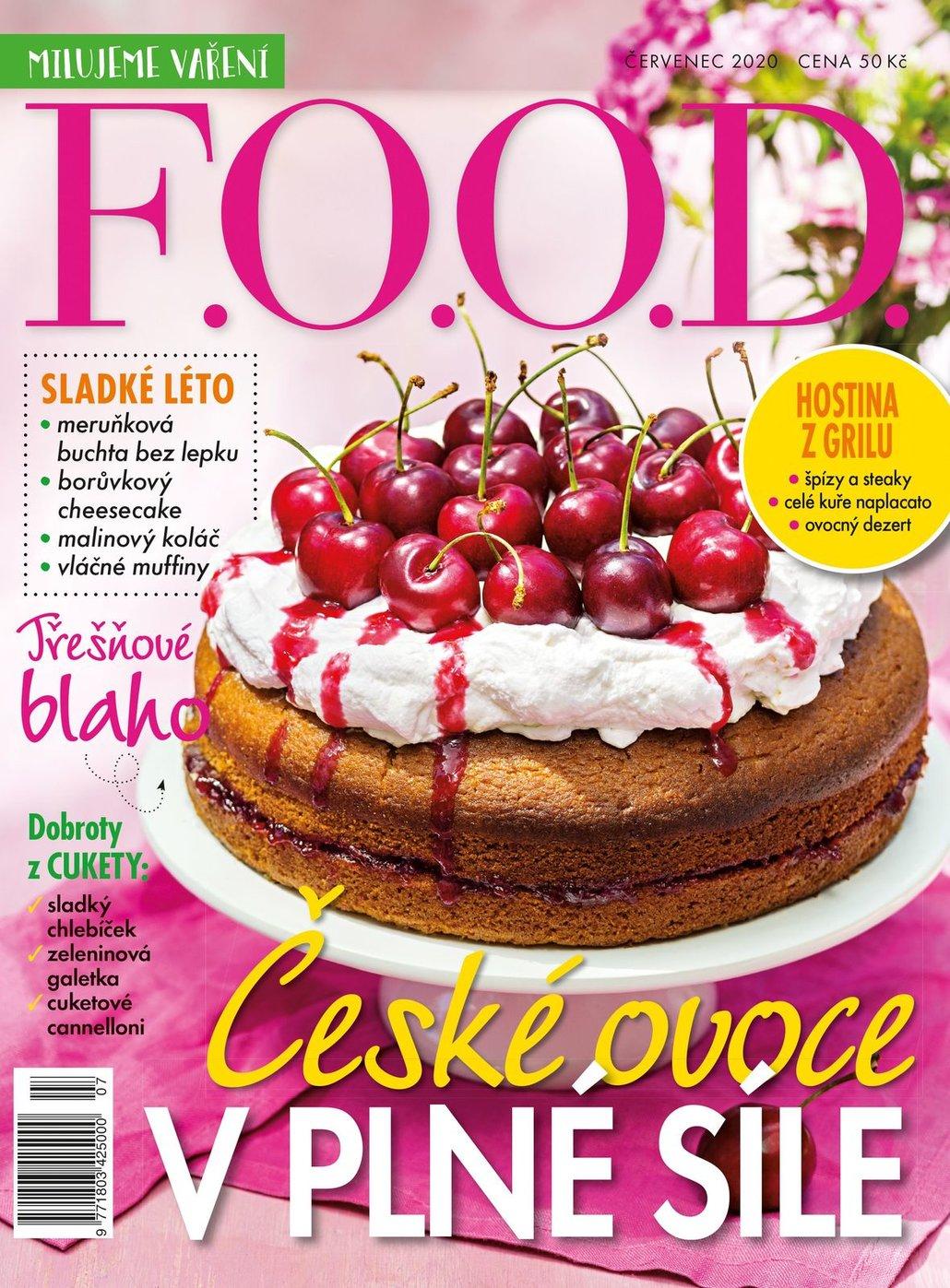Už máte červencové číslo časopisu F.O.O.D.?