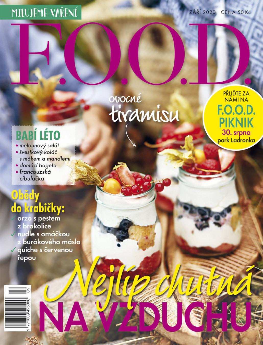 Už máte zářijové číslo časopisu F.O.O.D.?