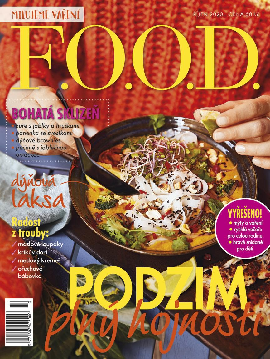 Už máte říjnové číslo časopisu F.O.O.D.?