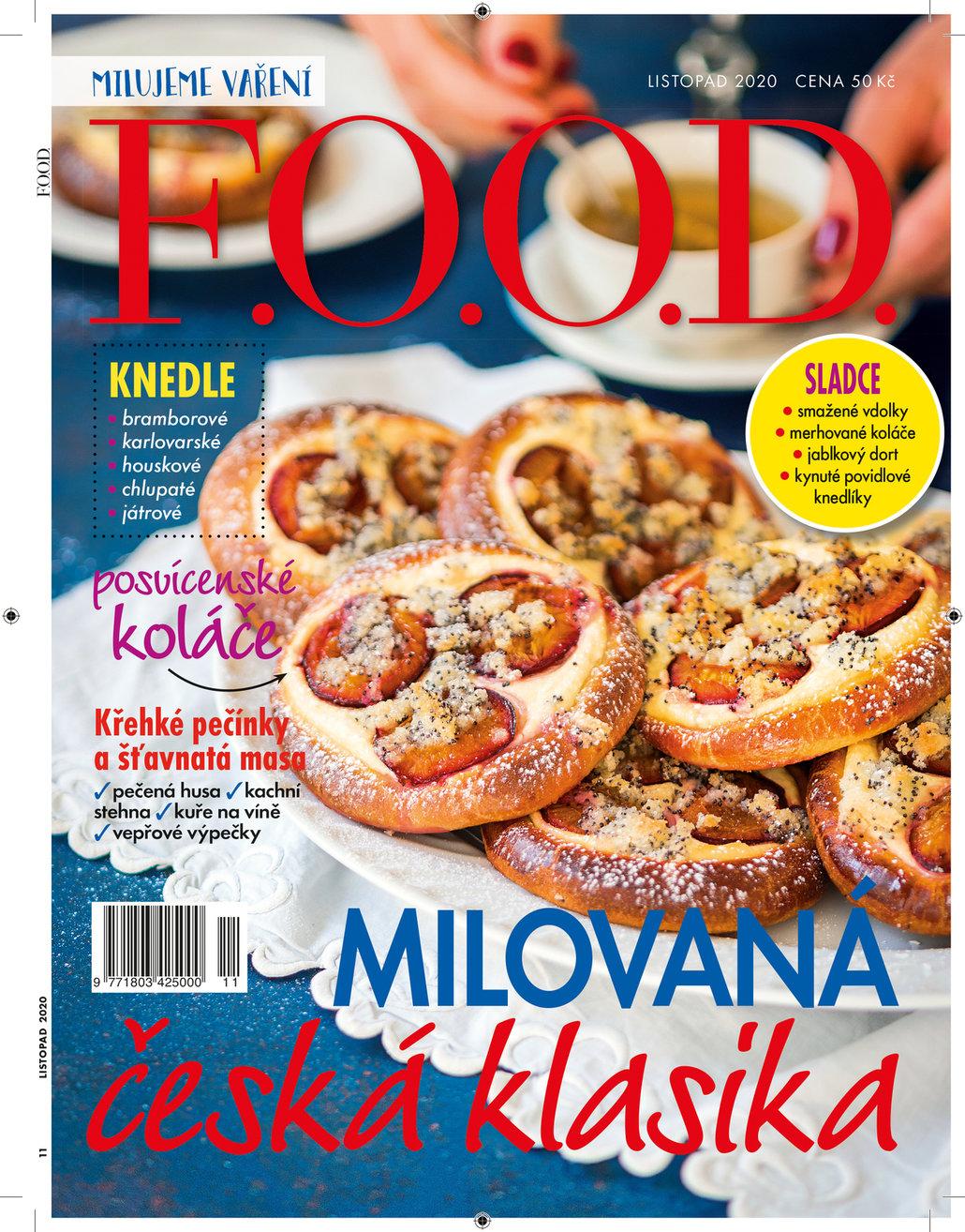 Už máte listopadový časopis F.O.O.D.?