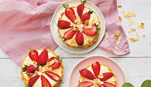 Recepty z jahod, kterým nelze odolat: Tartaletky, jahodový cheesecake i lehoučká Pavlova