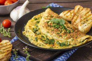 Jak připravit nadýchanou omeletu, aby nebyla vysušená