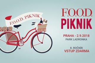 F.O.O.D. piknik 2018: Káva z českých pražíren a domácí celozrnné bábovky