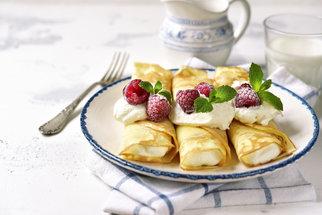 Crepes neboli palačinky: Zkuste nadýchanou klasiku s ovocem, pohankové i hit pařížských kaváren