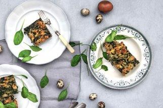 Nádivka: Recept a video postup na velikonoční klasiku se špenátem a bez masa
