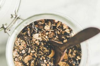 Domácí čokoládová granola