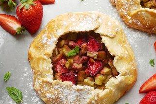 Recepty bez lepku na sladké dobroty: Rebarborový koláč, galetka i tradiční koláčky