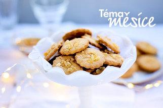 Zdravé vánoční cukroví vás bude bavit. Zkuste kokosové, zázvorové nebo sušenky s kakaovými boby