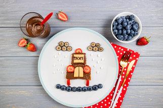 Jídlo pro dětskou fantazii: 100 nejkrásnějších nápadů na snídaně, svačiny i obědy