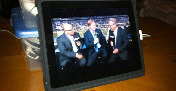 Televize v iPadu