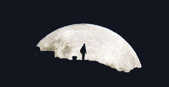 Měsíc byl v největším úplňku