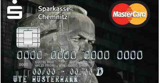 Platební karta s Marxem