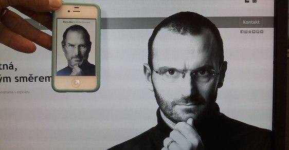 Steve Jobs počesku