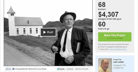Kickstarter není automat na peníze. Americký fotograf by mohl vyprávět