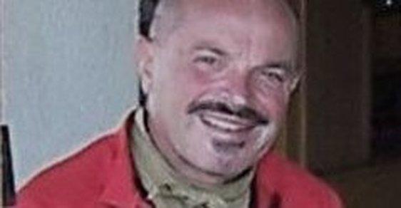 Petr Haškovec při pauze na jednom ze svých cyklovýletů.