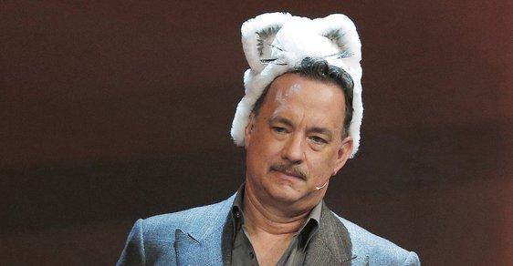 Tom Hanks uváděl v Berlíně svůj nový film. Reflex byl u toho