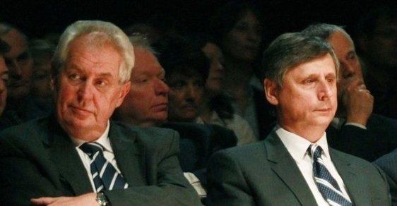Zeman a Fischer