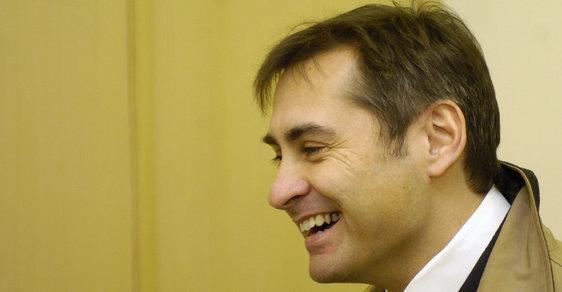 Soudce Jiří Berka u soudu v roce 2013.
