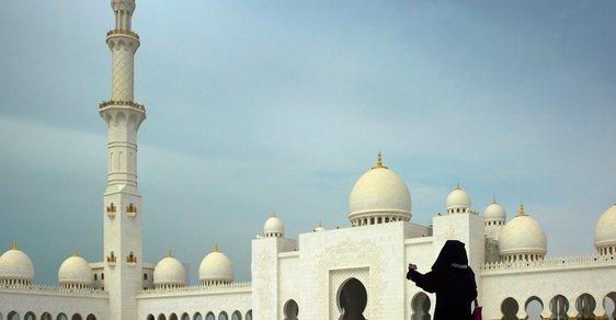 Uvnitř mešity
