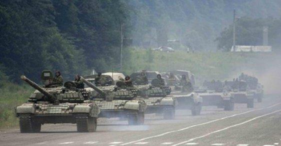 Ruské jednotky míří ke Gruzii