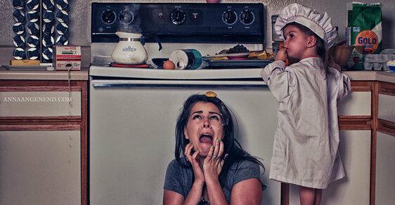 13 děsivých snímků aneb Proč mateřská dovolená nemá s dovolenou nic společného