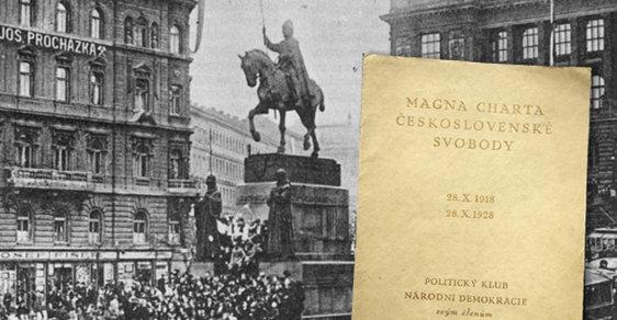Vznik Československa: 14 dnů, jež předcházely 28. říjnu 1918