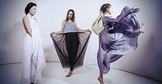 Ikonická recyklace: Studentky oděvního designu oblékly jen pro Reflex své úchvatné modely