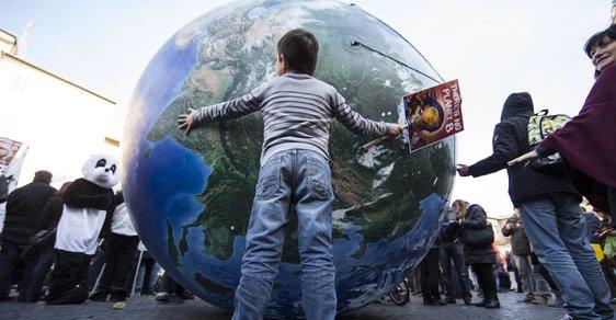 Protesty před klimatickým summitem: Řím