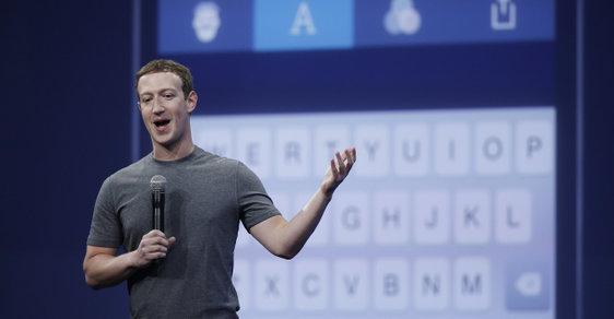 Mark Zuckerberg se chce obejít bez klávesnice.