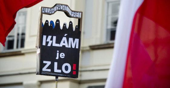 Proti-imigrační nálady v Česku - ilustrační foto