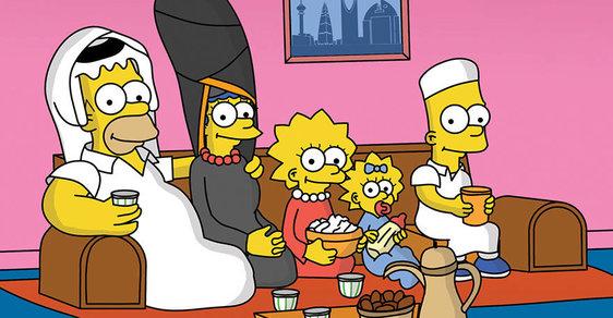 Kdyby Simpsonovi nebo nindža želvy byli Arabové