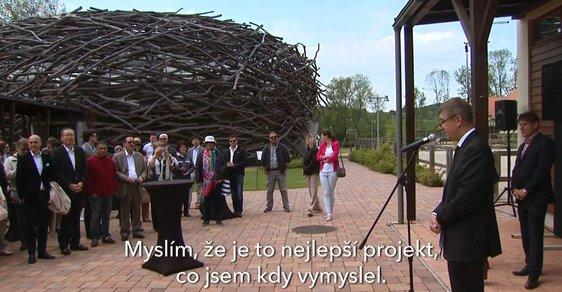 Andrej Babiš o Čapím hnízdě