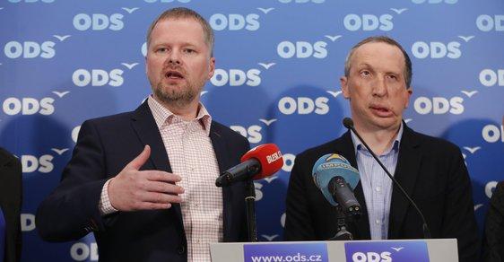 Petr Fiala a Václav Klaus